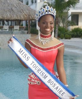 Miss Tourism Bonaire Carolin Coffie
