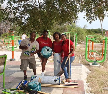 Pic 1 CIBC FirstCaribbean Adopt A Cause Curacao Zoo