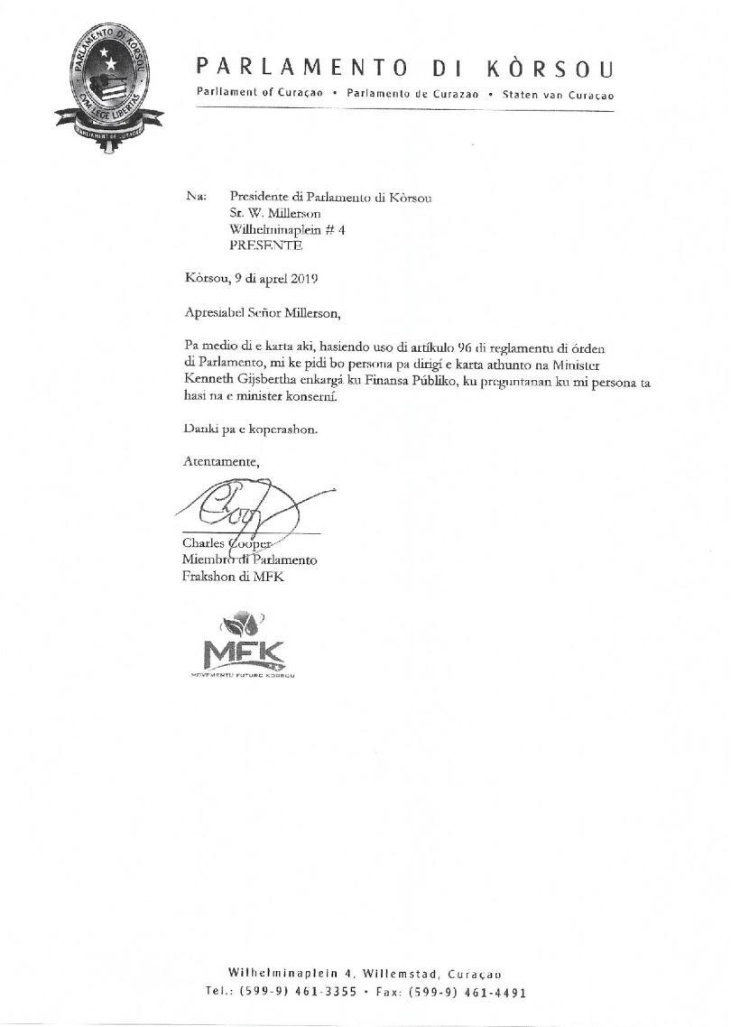 Pregunta - Na Minister Gijsbertha relashona ku benta di UTS-page-004