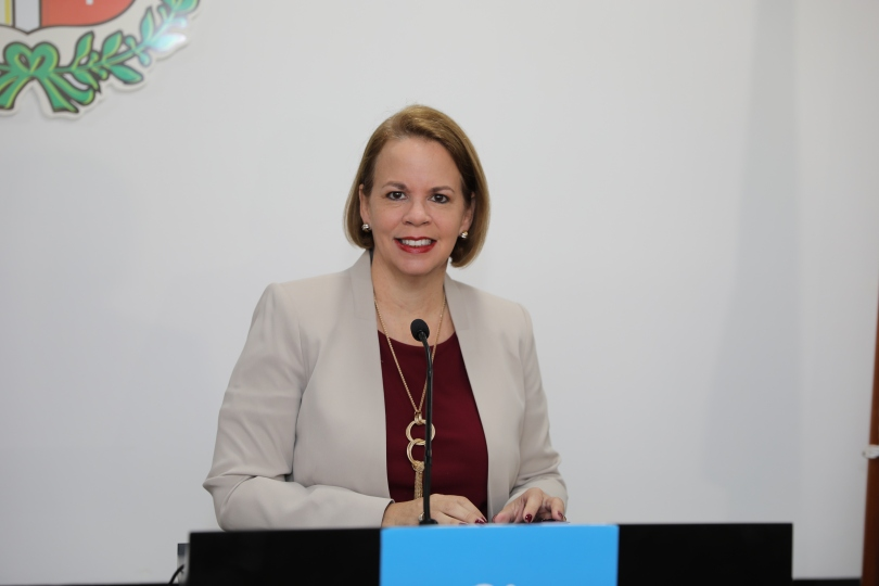 Prome Minister Evelyn Wever-Croes